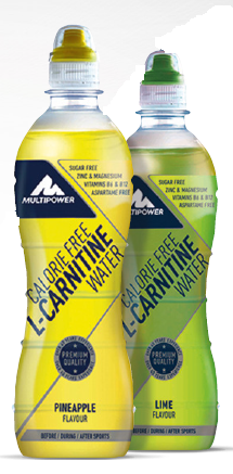 Multipower Fertigdrink Carnitin-Water 12x500ml PET-Flasche