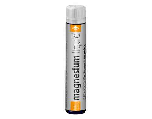Bavaria Sportsfood Magnesium liquid 20x25ml Thekenaufsteller