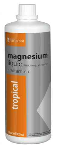Bavaria Sportsfood Magnesium liquid Tropical 1 Liter Flasche