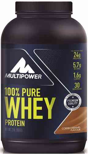 Multipower 100% Pure Whey Protein 900g Dose
