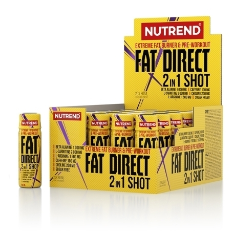 Nutrend FAT DIRECT 2 in 1   20x60ml Shot