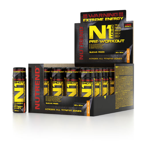 Nutrend N1 SHOT Pre-Workout 20x60ml