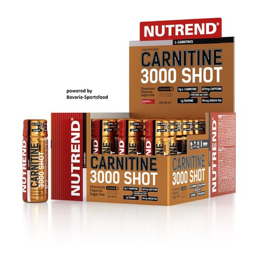 Nutrend Carnitin 3000 Shot 20x60ml