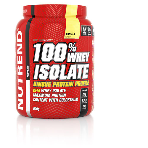 Nutrend 100% Whey Isolate 900g Dose