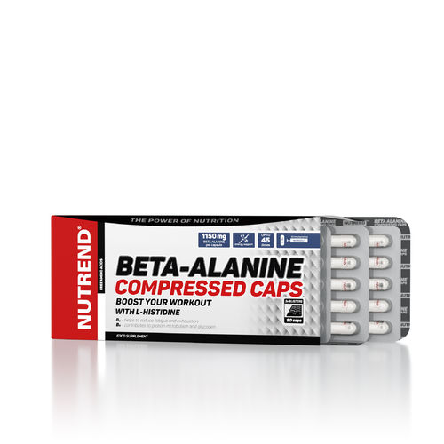 Nutrend Beta-Alanine Compressed Caps 90 Kapseln