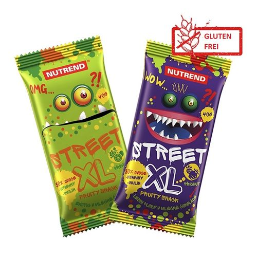 Nutrend Street XL FRUITY 30x40g Riegel