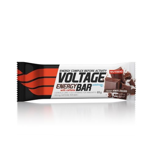 Nutrend VOLTAGE ENERGY BAR +KOFFEIN 25x65g Riegel