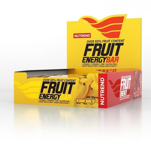 Nutrend FRUIT ENERGY BAR 20x35g Riegel/Karton