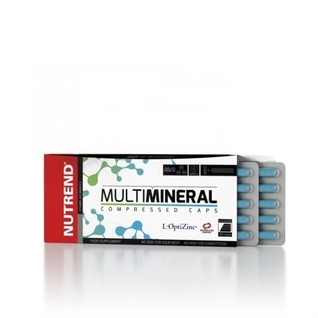 Nutrend Mulitmineral Compressed Caps 60 Kapseln